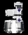 Supporto con cartuccia anticalcare - Smart